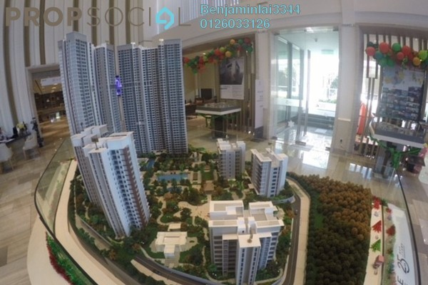 For Sale Condominium at Agile Mont Kiara, Dutamas Freehold Semi Furnished 4R/3B 1.3m