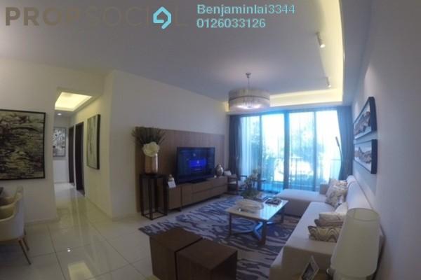For Sale Condominium at Agile Mont Kiara, Dutamas Freehold Semi Furnished 3R/3B 1.21m