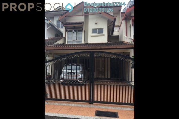 For Sale Terrace at SD10, Bandar Sri Damansara Freehold Semi Furnished 4R/4B 1.1m