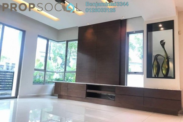 For Rent Terrace at Zenia, Desa ParkCity Freehold Semi Furnished 4R/4B 8k