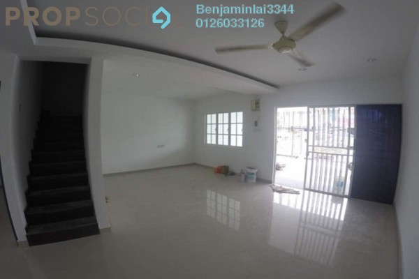 For Sale Terrace at Taman Kepong Indah, Kepong Freehold Fully Furnished 5R/3B 1.15m
