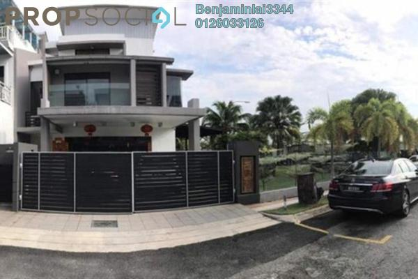For Sale Terrace at Taman Saujana Putra, Johor Freehold Fully Furnished 5R/5B 2.2m