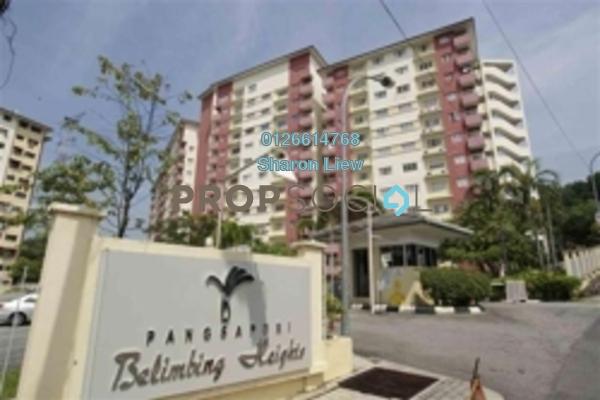 For Sale Apartment at Belimbing Heights, Seri Kembangan Freehold Semi Furnished 3R/2B 320k