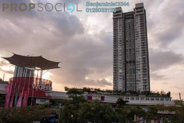 For Sale Condominium at The Northshore Gardens, Desa ParkCity Freehold Fully Furnished 2R/1B 920k