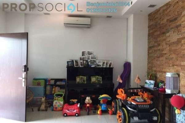 For Sale Semi-Detached at Sri Aman Apartment, Relau Freehold Semi Furnished 4R/3B 1.26m