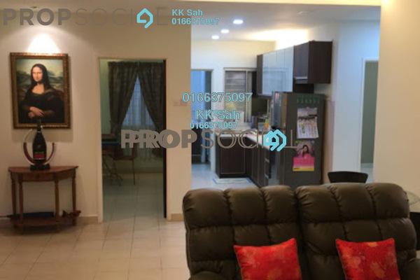 For Sale Apartment at Kasuarina Apartment, Klang Freehold Semi Furnished 3R/2B 328k