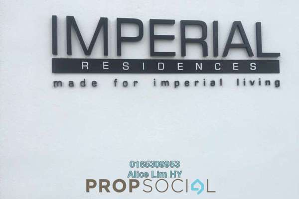 For Rent Condominium at Imperial Residences, Sungai Ara Freehold Semi Furnished 3R/2B 1.3k
