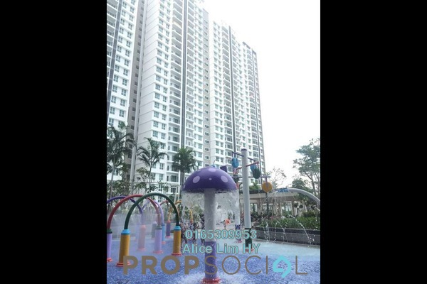 For Rent Condominium at Imperial Residences, Sungai Ara Freehold Semi Furnished 3R/2B 1.4k