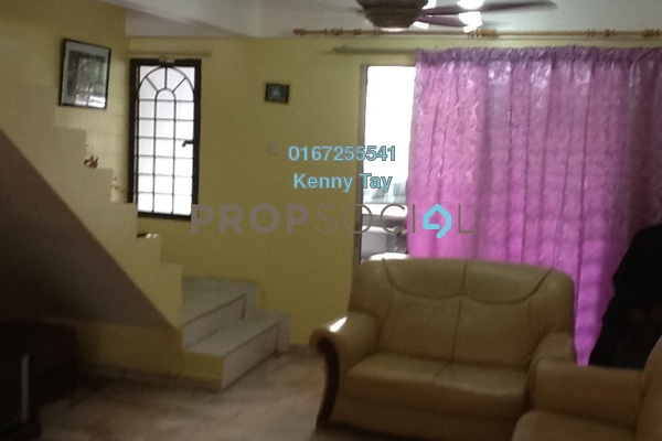 For Sale Terrace at Taman Segambut Damai, Segambut Freehold Semi Furnished 3R/2B 500k