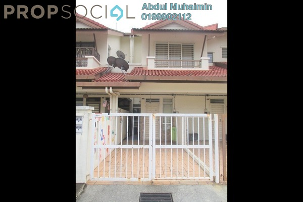 For Sale Townhouse at Bayu Parkville, Balakong Freehold Semi Furnished 3R/2B 330k