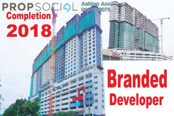 For Sale Condominium at The Edge Residen, Subang Jaya Freehold Semi Furnished 2R/2B 420k