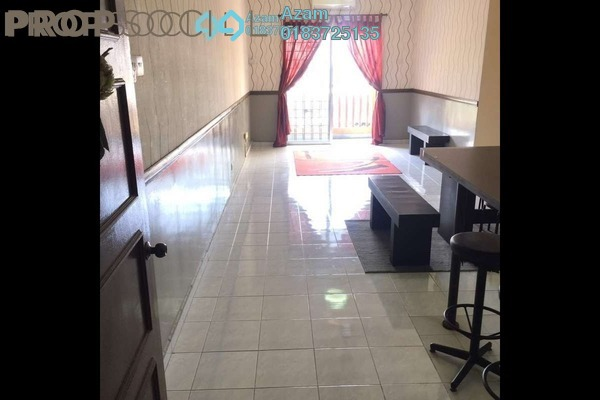 For Sale Condominium at Laksamana Puri, Batu Caves Leasehold Semi Furnished 4R/2B 288k