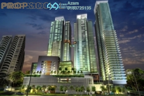 For Sale Condominium at Verticas Residensi, Bukit Ceylon Freehold Fully Furnished 4R/3B 2.23m