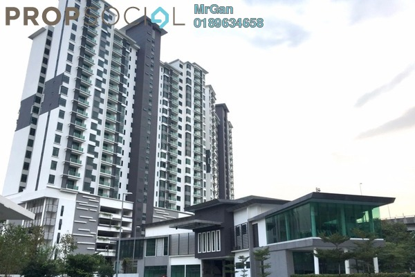 For Rent Condominium at The Vyne, Sungai Besi Freehold Semi Furnished 2R/2B 1.3k