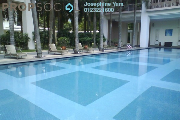 For Rent Condominium at Hampshire Park, KLCC Freehold Semi Furnished 3R/3B 5.7k