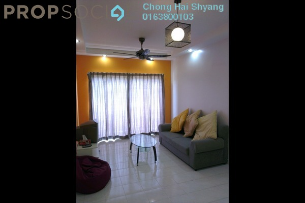 For Rent Condominium at Puteri Bayu, Bandar Puteri Puchong Freehold Fully Furnished 3R/2B 1.3k