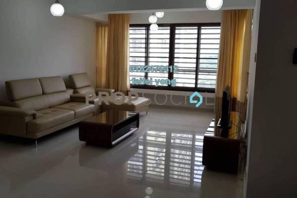 For Rent Condominium at i-Zen Kiara II, Mont Kiara Freehold Fully Furnished 3R/3B 5.5k