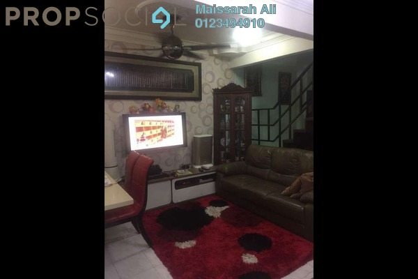 For Sale Terrace at Taman Permata, Wangsa Maju Freehold Semi Furnished 2R/2B 480k