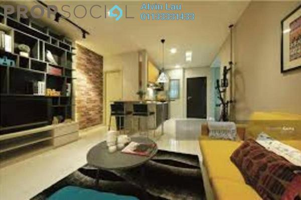 For Sale SoHo/Studio at Liberty Arc @ Ampang Ukay, Ukay Freehold Fully Furnished 1R/1B 320k