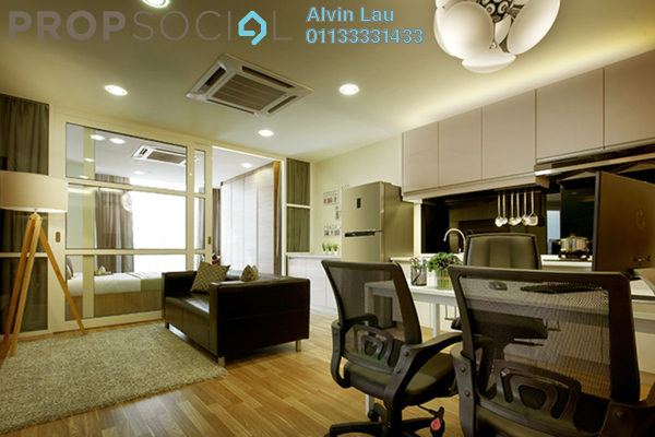 For Sale SoHo/Studio at Q Suite @ Queensville, Bandar Sri Permaisuri Freehold Semi Furnished 1R/1B 363k