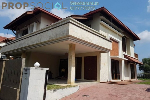 For Rent Bungalow at Sunway Rahman Putra, Bukit Rahman Putra Freehold Semi Furnished 7R/7B 3.5k