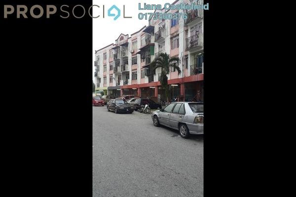 For Sale Apartment at Taman Lestari Perdana, Bandar Putra Permai Freehold Unfurnished 3R/1B 130k
