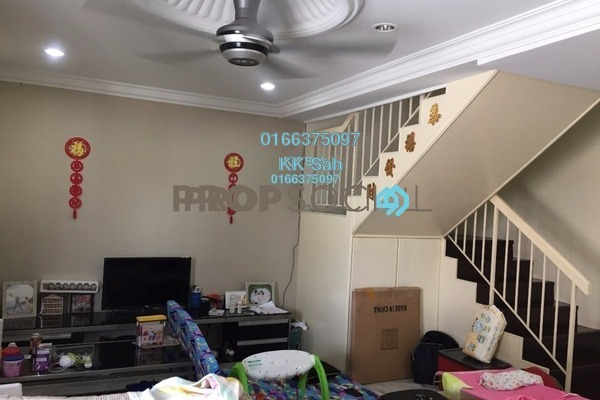 For Sale Terrace at Taman Minang, Cheras South Freehold Semi Furnished 3R/2B 580k