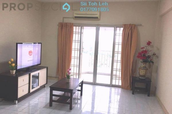 For Rent Apartment at Permas Ville, Bandar Baru Permas Jaya Freehold Fully Furnished 3R/2B 1.35k