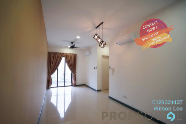 For Rent Condominium at South View, Bangsar South Freehold Semi Furnished 2R/2B 2.3k