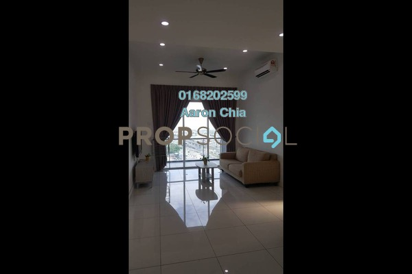 For Rent Condominium at Skypod, Bandar Puchong Jaya Freehold Fully Furnished 2R/2B 2k