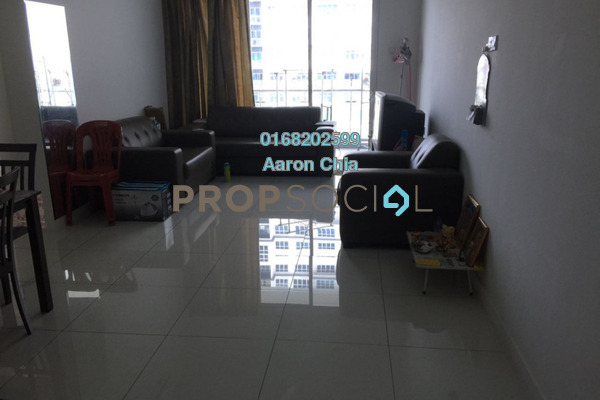 For Rent Condominium at Skypod, Bandar Puchong Jaya Freehold Fully Furnished 2R/2B 1.95k