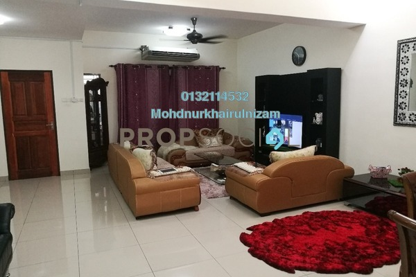 For Sale Terrace at Bandar Saujana Utama, Sungai Buloh Leasehold Semi Furnished 4R/3B 629k