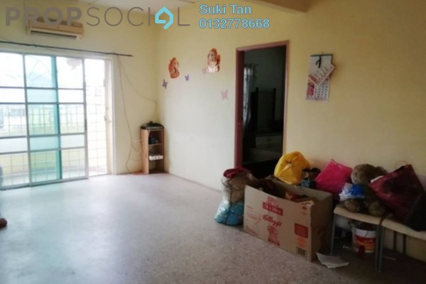For Sale Apartment at Taman Jinjang Baru, Jinjang Freehold Semi Furnished 3R/2B 168k