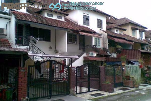 For Sale Townhouse at Taman Lembah Maju, Pandan Indah Freehold Semi Furnished 3R/1B 345k