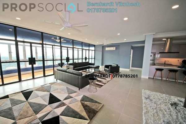 For Rent Condominium at Suasana Sentral Condominium, KL Sentral Freehold Fully Furnished 4R/5B 8k