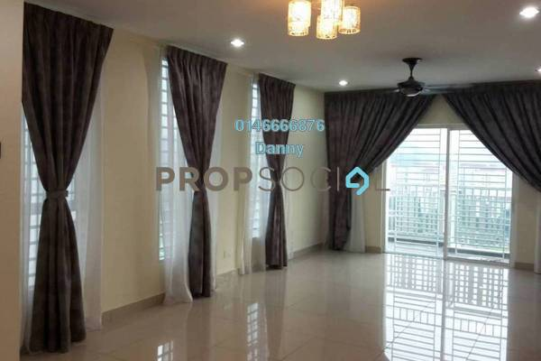 For Rent Condominium at The Loft @ ZetaPark, Setapak Freehold Semi Furnished 3R/2B 2.3k