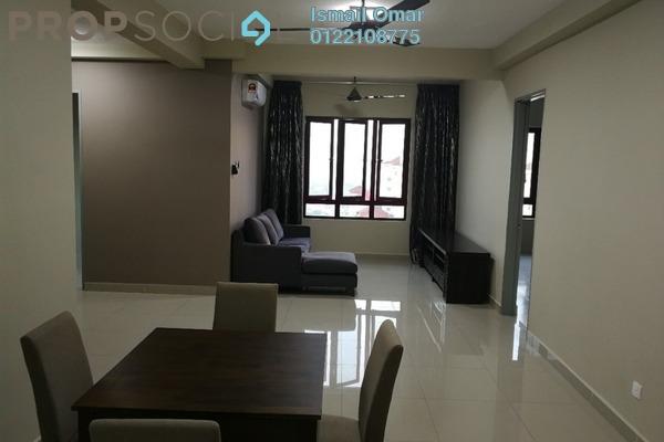 For Rent Condominium at Sentul Rafflesia, Sentul Freehold Semi Furnished 4R/3B 2.6k
