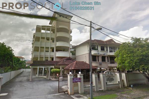 For Rent Condominium at Desa Bunga, Pulau Tikus Freehold Fully Furnished 3R/2B 2k