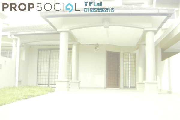 For Sale Terrace at Taman Lestari Perdana, Bandar Putra Permai Freehold Semi Furnished 4R/3B 538k