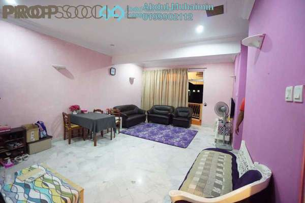 For Sale Apartment at Intan Apartment, Setiawangsa Freehold Semi Furnished 3R/2B 370k