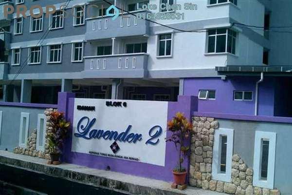 For Rent Condominium at Idaman Lavender 2, Sungai Ara Freehold Fully Furnished 3R/2B 1.2k