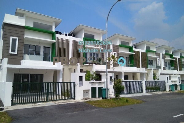 For Sale Superlink at Jade Hills, Kajang Leasehold Unfurnished 4R/4B 573k