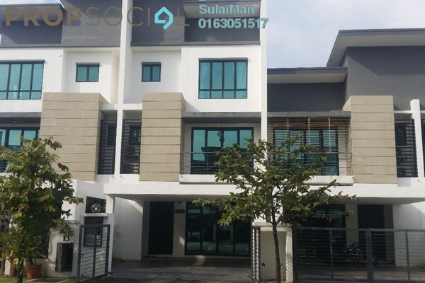 For Sale Terrace at Zircona, Alam Impian Freehold Semi Furnished 6R/6B 1m