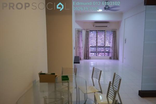 For Rent Condominium at Villa Dahlia, Bandar Utama Freehold Semi Furnished 3R/2B 1.5k