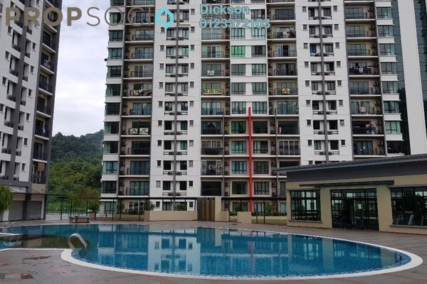 For Sale Condominium at V-Residensi, Selayang Heights Leasehold Semi Furnished 3R/3B 490k
