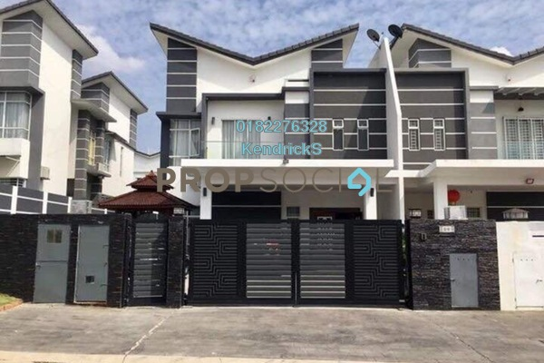 For Sale Semi-Detached at Greenhill Residence, Shah Alam Leasehold Semi Furnished 5R/6B 1.59m