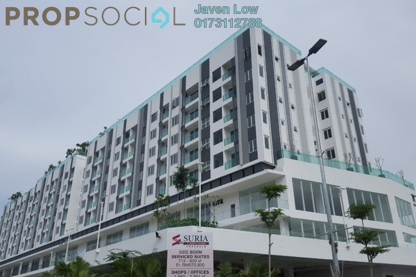 For Rent Condominium at Suria @ North Kiara, Segambut Freehold Semi Furnished 2R/2B 1.4k