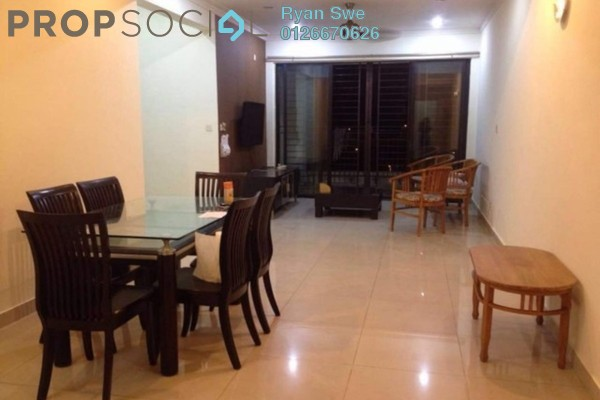 For Sale Condominium at Rivercity, Sentul Freehold Semi Furnished 3R/2B 550k