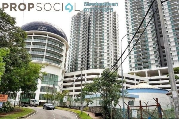 For Sale Condominium at Sphere Damansara, Damansara Damai Freehold Semi Furnished 1R/2B 320k