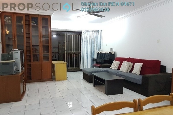 For Rent Condominium at Villa Angsana, Jalan Ipoh Freehold Fully Furnished 3R/2B 1.8k